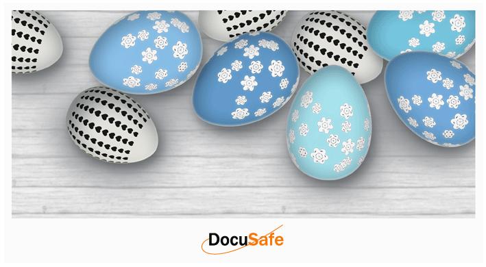 Życzenia Wielkanocne DocuSafe 2018